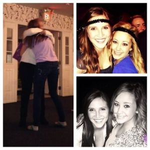 """""""My big is the reason why I'm a Delta Gamma today! I had no idea when I decided to go Greek that I would find someone who is so similar to me. I'm so beyond blessed to have Rachael in my life and I don't know what I would do without her now. You're my sunshine and one of the greatest people I've ever met. You deserve the world and so much more! I can't wait to be back in Kent with you to make even more memories!"""", says Jenna Harper about her big, Rachael Buhrow."""